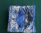 Microwave bowl holder ''Eterel blue''
