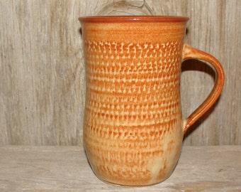 16 oz. Rustic Brown Coffee Cup