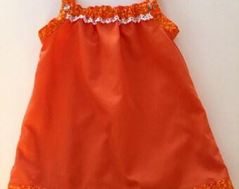 Baby Dress Oange