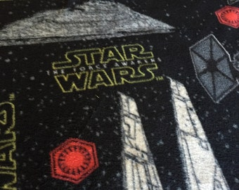 Star Wars fleece fabric