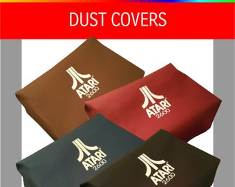 Atari 2600 VCS (four swtich) system dust covers
