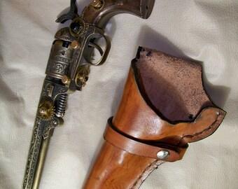 Steampunk Navy 1851 Black Powder Revolver
