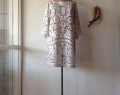 Womens Gypsy Soul Lace Summer Dress.Size 8 to 12.
