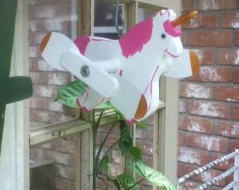 Unicorn Whirligig