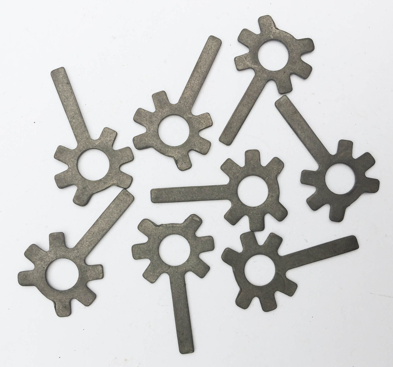 8pc set steel metal shapes craft supplies flower art from for Metal art craft supplies