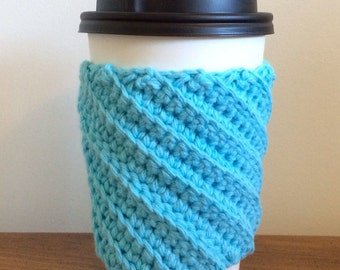 Crocheted Coffee Cozy -Cup Sleeve