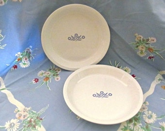 Corning Ware Blue Cornflower Pie Plates
