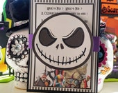 Halloween Party Invitation, Halloween Invitation, Nightmare before Christmas Invitation , Halloween Party Invite