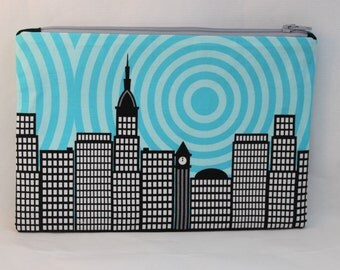 New York Zipper Pouch