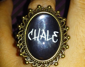 Chale oval ring