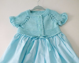 Baby Dress/ Baby Girl Dress / Baby CROCHET Dress/ Girl Dress, , Photo Prop/