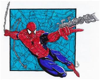 Spiderman -11x14 Print