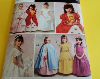 Simplicity 0633 Girls Halloween Costume Pattern Uncut 2 to 6