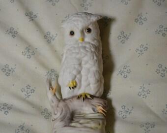 Vintage Snowy White Owl by Cybis
