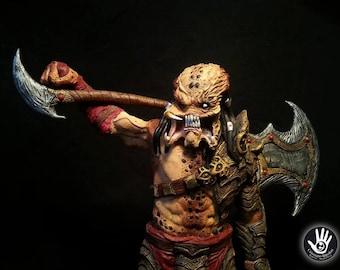 Predator Statue