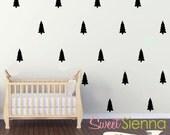 Tree wall decals, Tree decal, Tree wall sticker, wall decals, wall stickers, vinyl wall decal stickers  x 40