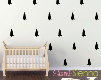 Tree wall decals, Tree decal, Tree wall sticker, wall decals, wall stickers, vinyl wall decal stickers  x 40