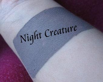 Night Creature - Taupe Gray Cream Liquid Matte Lipstick - Storm Cloud Gothic - Matte Lipstick VEGAN Lips Mineral Makeup