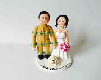Personalised Librarian Bride Amp Mechanic Groom Wedding Cake