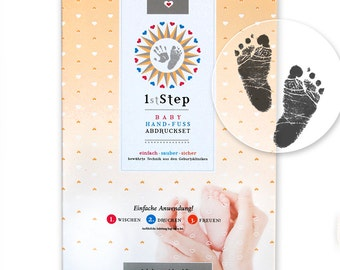 "Babyprint set - hand - and footprint Kit - ""magic ink!"" by baby's 1st step"