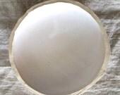 matt white bowl (dia.15 cm)