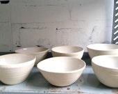 white bowl (dia.13 cm)