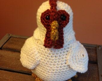 Chicken Crochet Stuffed Animal