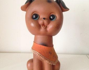 SALE- 1970s Vintage Big Dog figurine 30cm