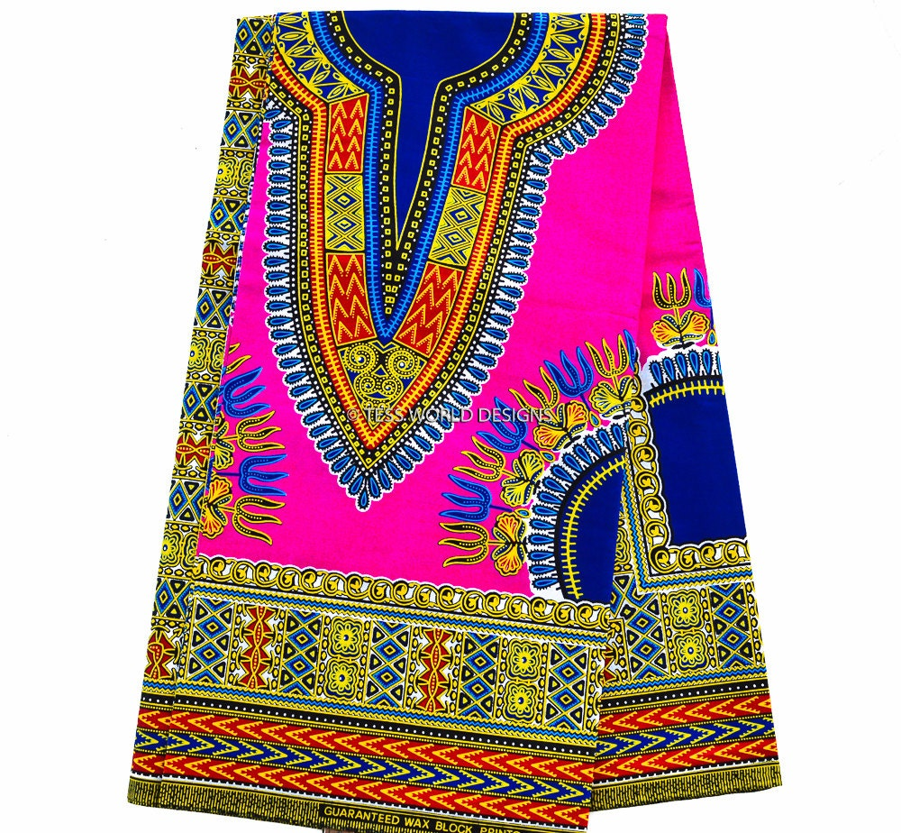 Wholesale pink dashiki fabric african fabric ankara print for Kids fabric wholesale