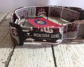 Dog Collar....GO Griz...let your critter show their team pride