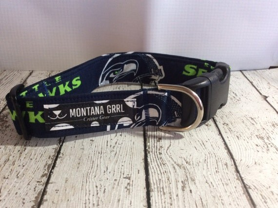 Dog Collar....GO SEAHAWKS...let your critter show their team pride