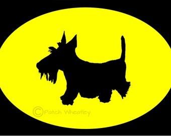 Scottie Dog Vinyl sticker/Decal