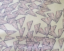 Traffic Jam  Heather Givans for Windham Fabrics Windham Fabrics Paper Obsessed Paper Airplanes Fabric Paper Fabric Crimson Tate Fabric