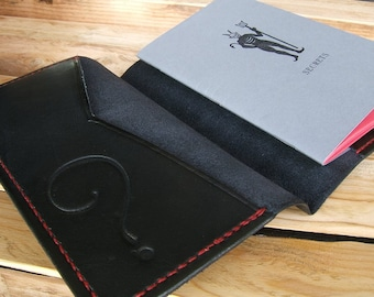 ALW & FSP Book of Secrets Handmade Leather Letterpress Diary Journal Handsitched USA Made in California