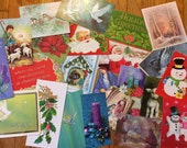 Crafty Card Creations Instruction Magazine From 1974 and Over 70 Vintage Cards Cut and Ready For Your Projects!