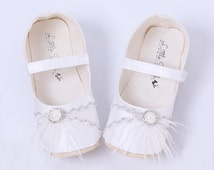 Christening Shoes Baptism Shoes White Wedding Shoes Silver Baby Shoes Baptism Shoes Girl Toddler Shoes Baby Girl Shoes