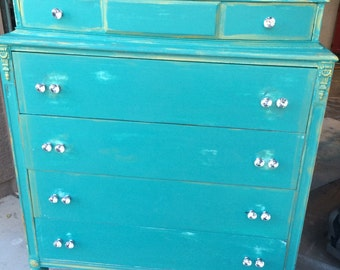 1800's Ladies Dresser, Antique Dresser, This is for a chalk paint service, not physical