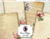75% OFF SALE OLD Elegance Ephemera Digital Collage Sheet Scrapbooking Vintage Sheet Music Old paper Instant Download
