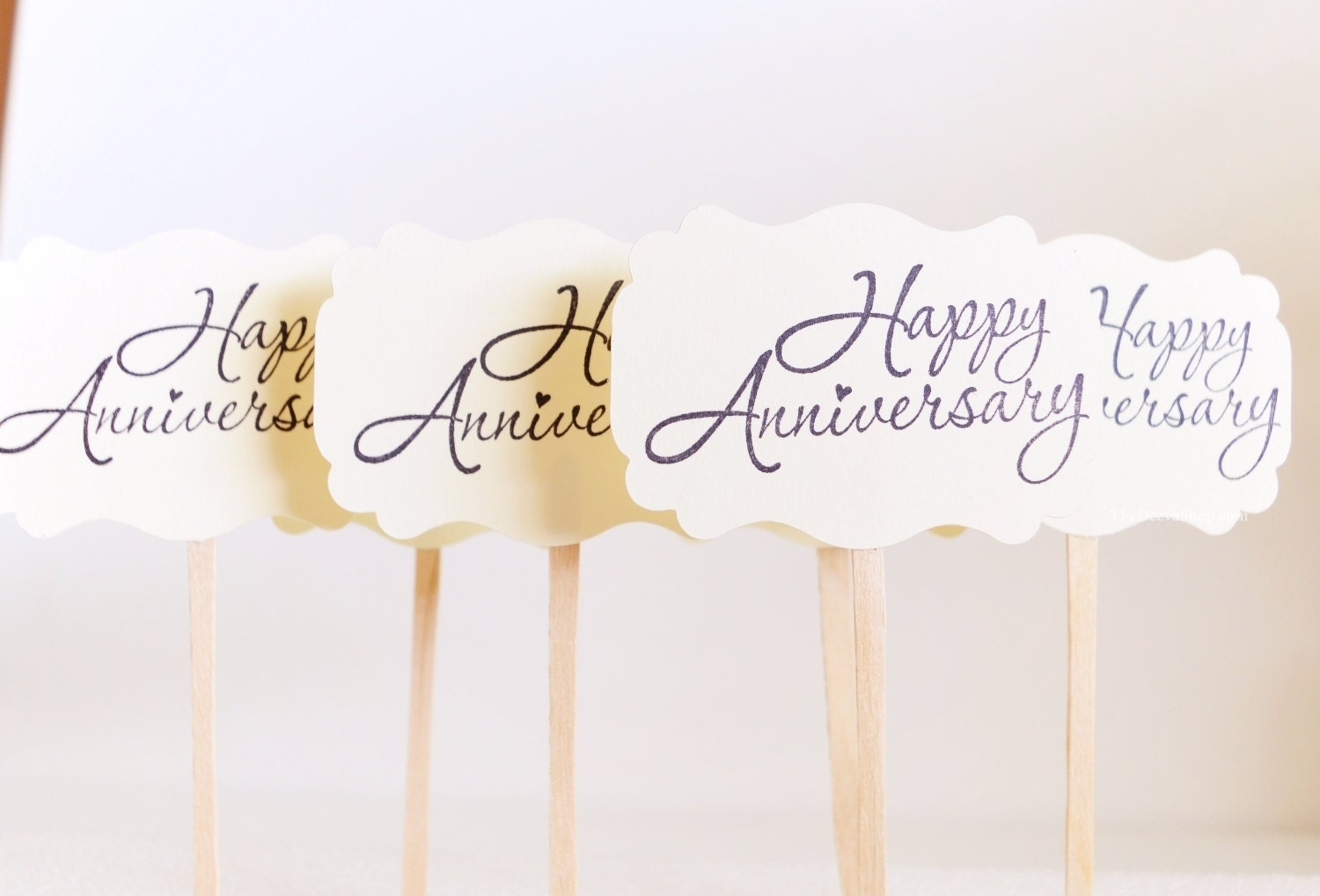 50th Anniversary Cupcake Decorations 50th Cupcake Toppers Etsy