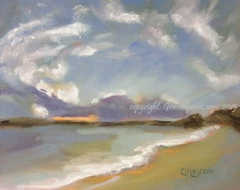 Centering...Original Oil Painting by Maresa Lilley, SND