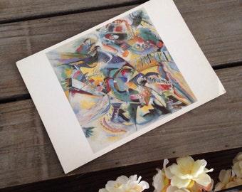 Postcard of fine art