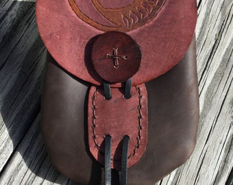 Leather Belt Pouch - GHRIAN