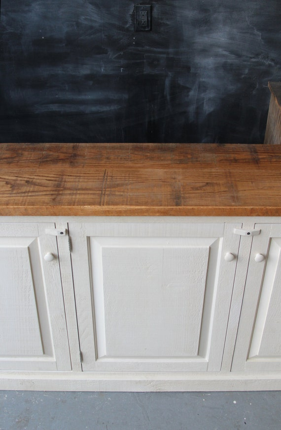 Rustic French Farmhouse Country Sideboard Buffet Cabinet