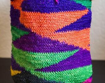 Little Agave Fiber/Sisal Hand Woven Bag