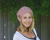 SALE Pink Button Slouch