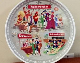 Knickerbocker Beer Tray Tea Tray Wall Bar Decor