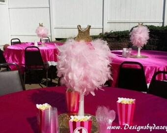 Ballerina favor, ballerina party, ballerina décor, ballet decorations, ballet centerpiece, 1st birthday, ballet birthday, ballet, ballerina
