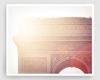 Paris photography - Arc De Triomphe,Paris photo,Fine art photography,Paris decor,8x10 art prints,white,Fine art prints,Art Posters