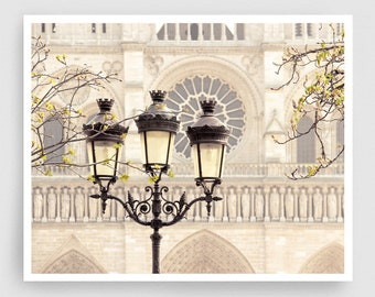 Paris photography - Notre Dame lamp post - Giclee Art Print,Home decor,Fine art photography,Paris decor,Art print,Art Poster,Gift idea,Wall