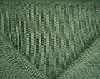 3-3/8 yards Brunschwig et Fils BR-81782 Yorke Chenille in Forest - Raised Cotton Chenille Check Upholstery Drapery Fabric - Free Shipping